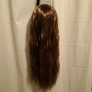 "Dark brown 24"" full wig"